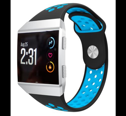 Strap-it® Strap-it® Fitbit Ionic sport band (zwart/blauw)