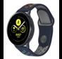 Strap-it® Samsung Galaxy Watch sport band 41mm / 42mm (donkerblauw kleurrijk)