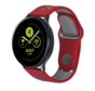 Strap-it® Samsung Galaxy Watch sport band 41mm / 42mm (rood kleurrijk)