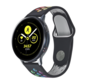 Strap-it® Samsung Galaxy Watch sport band 41mm / 42mm (zwart kleurrijk)
