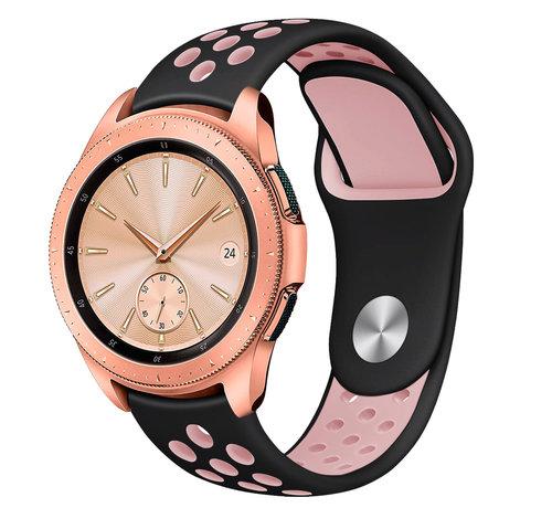 Strap-it® Strap-it® Samsung Galaxy Watch sport band 41mm / 42mm (zwart/roze)