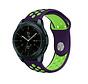 Strap-it® Samsung Galaxy Watch sport band 41mm / 42mm (paars/geel)
