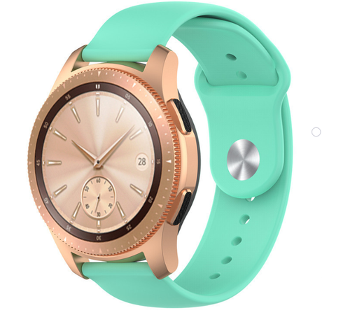 Strap-it® Strap-it® Samsung Galaxy Watch sport band 41mm / 42mm (aqua)