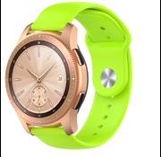 Strap-it® Samsung Galaxy Watch sport band 41mm / 42mm (lichtgroen)