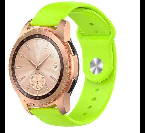 Strap-it® Strap-it® Samsung Galaxy Watch sport band 41mm / 42mm (lichtgroen)