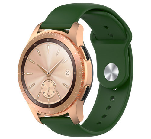 Strap-it® Strap-it® Samsung Galaxy Watch sport band 41mm / 42mm (legergroen)