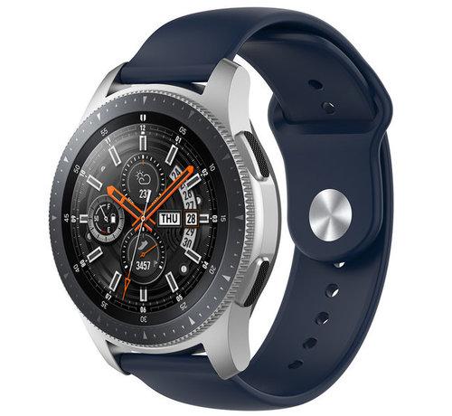 Strap-it® Strap-it® Samsung Galaxy Watch sport band 45mm /  46mm (donkerblauw)