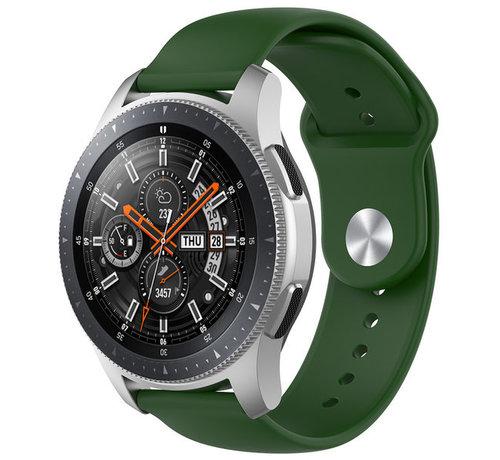 Strap-it® Strap-it® Samsung Galaxy Watch sport band 45mm / 46mm (legergroen)