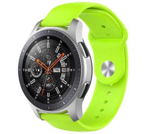 Strap-it® Strap-it® Samsung Galaxy Watch sport band 45mm / 46mm (lichtgroen)