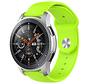 Strap-it® Samsung Galaxy Watch sport band 45mm / 46mm (lichtgroen)