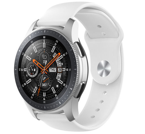 Strap-it® Strap-it® Samsung Galaxy Watch sport band 45mm /  46mm (wit)