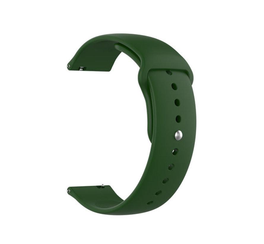 Strap-it® Garmin Vivoactive 3 sport band (legergroen)