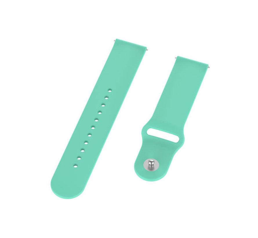 Strap-it® Garmin Vivoactive 3 sport band (aqua)