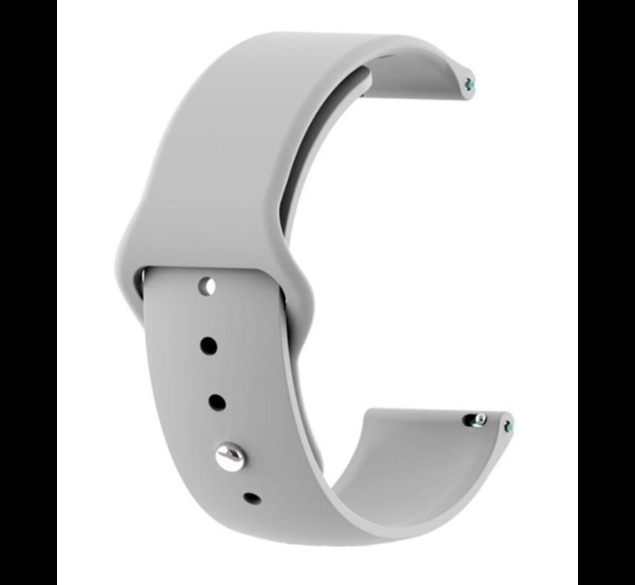 Strap-it® Samsung Galaxy Watch sport band 41mm / 42mm (grijs)