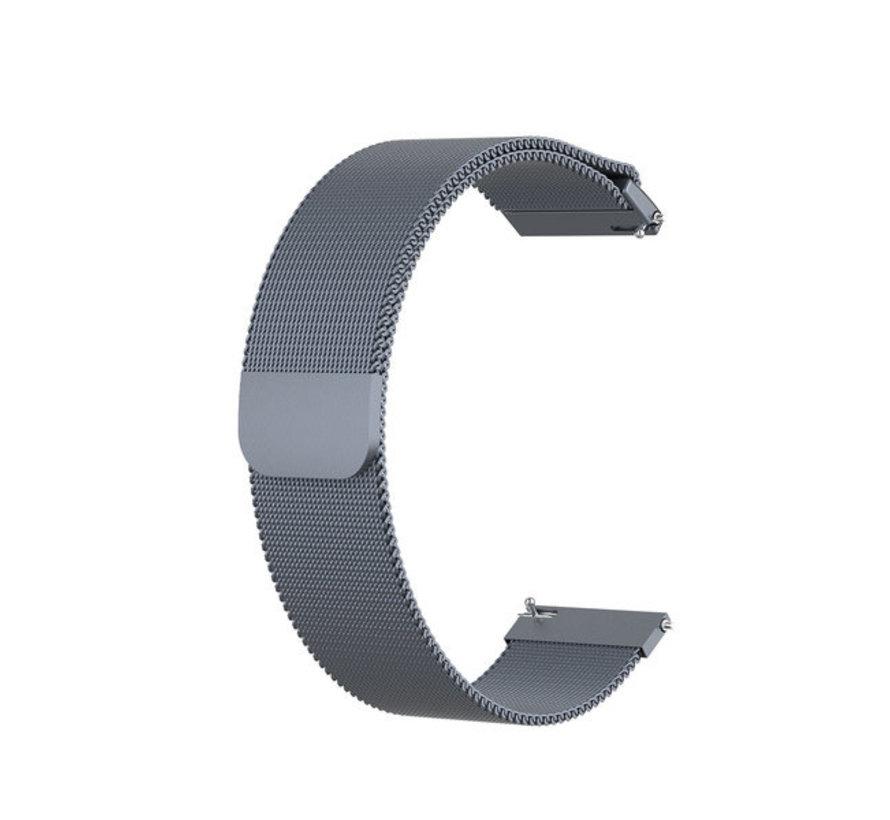 Strap-it® Garmin Vivoactive 4 Milanese band - 45mm - space grey