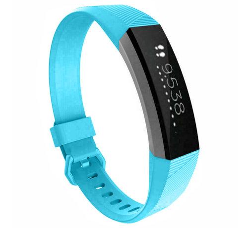 Strap-it® Strap-it® Fitbit Alta / Alta HR siliconen bandje (lichtblauw)