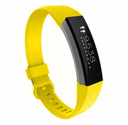 Strap-it® Fitbit Alta / Alta HR siliconen bandje (geel)