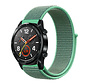 Strap-it® Huawei Watch GT nylon band (mint)