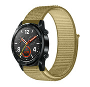 Strap-it® Huawei Watch GT nylon band (olijf)