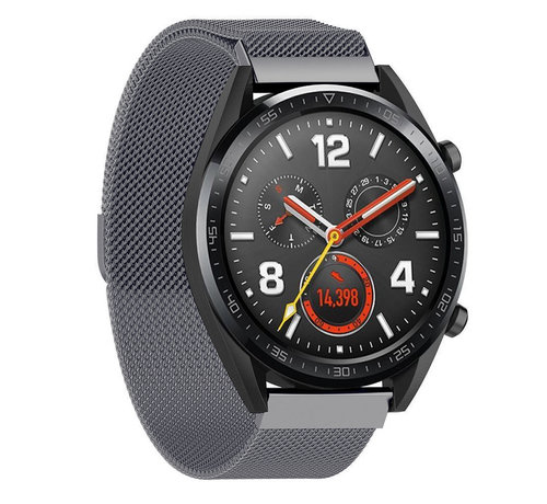Strap-it® Strap-it® Huawei Watch GT Milanese band (space grey)