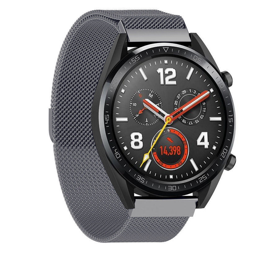 Strap-it® Huawei Watch GT Milanese band (space grey)