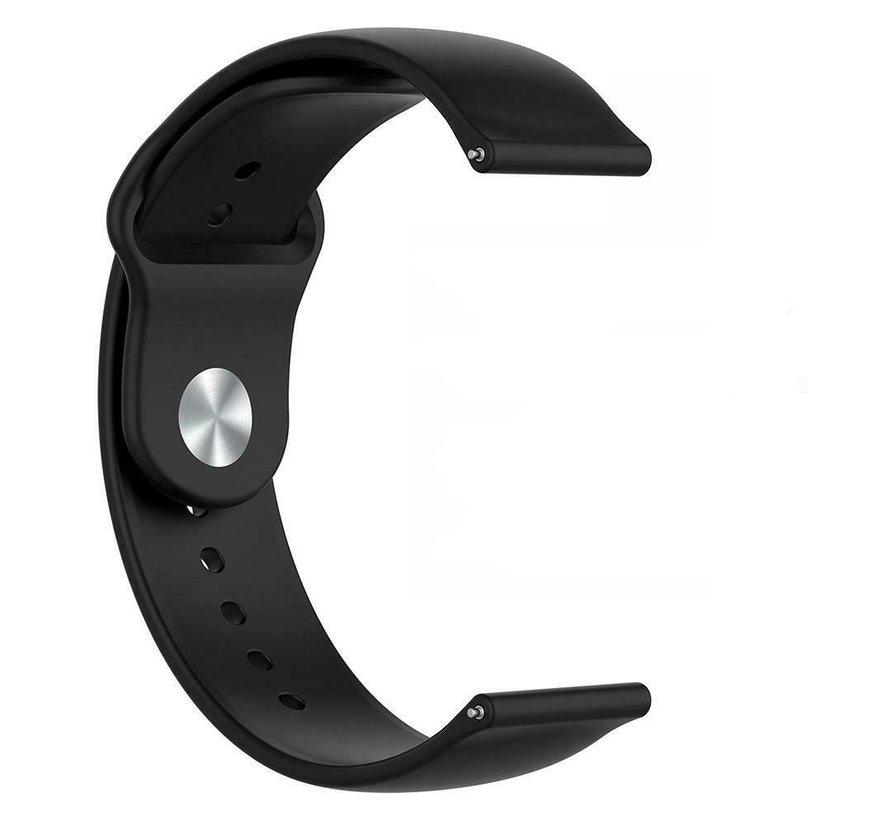 Strap-it® Garmin Vivomove HR sport band (zwart)