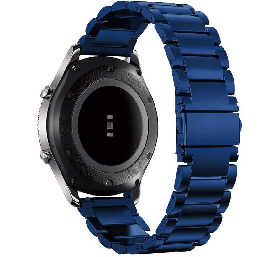 Strap-it® Garmin Venu stalen band (blauw)