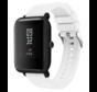 Strap-it® Xiaomi Amazfit Bip silicone band (wit)