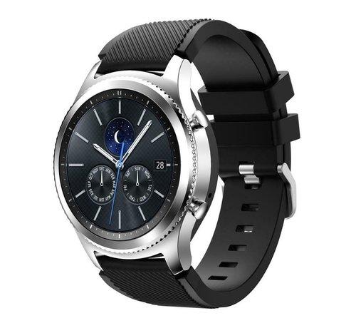 Strap-it® Strap-it® Samsung Gear S3 silicone band (zwart)