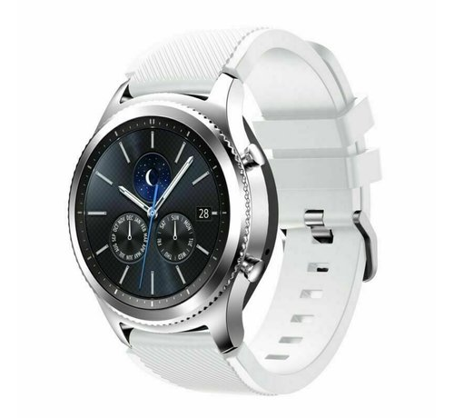 Strap-it® Strap-it® Samsung Gear S3 silicone band (wit)