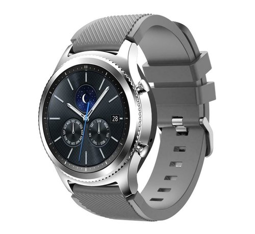 Strap-it® Strap-it® Samsung Gear S3 silicone band (grijs)