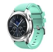 Strap-it® Samsung Gear S3 silicone band (aqua)