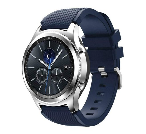 Strap-it® Strap-it® Samsung Gear S3 silicone band (donkerblauw)