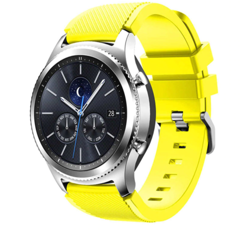 Strap-it® Strap-it® Samsung Gear S3 silicone band (geel)