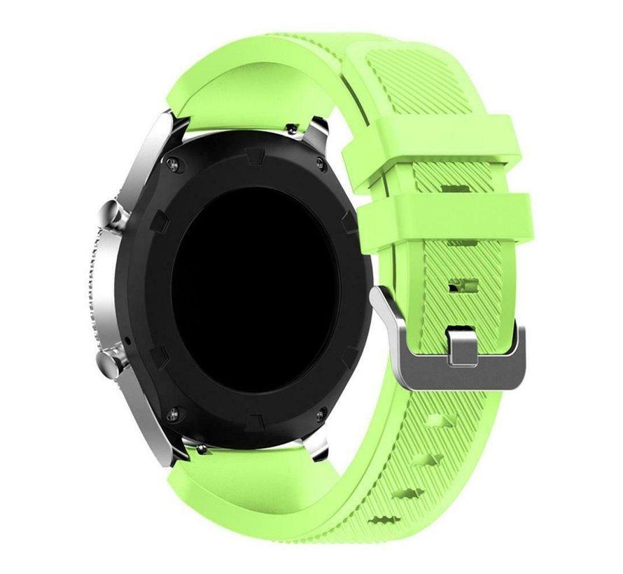 Strap-it® Samsung Gear S3 silicone band (lichtgroen)