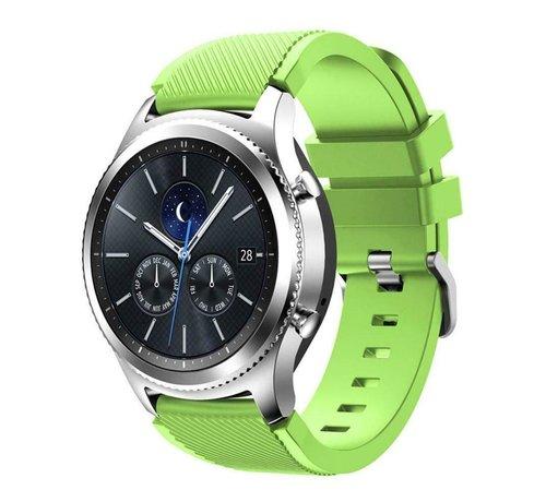 Strap-it® Strap-it® Samsung Gear S3 silicone band (lichtgroen)