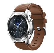 Strap-it® Samsung Gear S3 silicone band (koffiebruin)