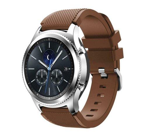 Strap-it® Strap-it® Samsung Gear S3 silicone band (koffiebruin)