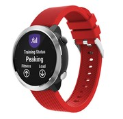 Strap-it® Garmin Vivoactive 4 silicone band - 45mm - rood