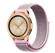 Strap-it® Samsung Galaxy Watch 41mm / 42mm nylon band (pink sand)