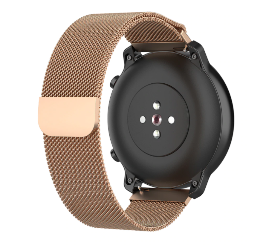 Strap-it® Huawei Watch GT Milanese band (rosé goud)