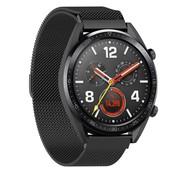 Strap-it® Huawei Watch GT Milanese band (zwart)