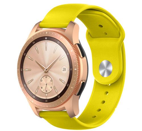 Strap-it® Strap-it® Samsung Galaxy Watch sport band 41mm / 42mm (geel)