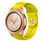 Strap-it® Samsung Galaxy Watch sport band 41mm / 42mm (geel)