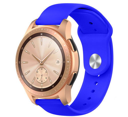 Strap-it® Strap-it® Samsung Galaxy Watch sport band 41mm / 42mm (blauw)