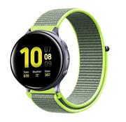 Strap-it® Samsung Galaxy Watch Active nylon band (fluoriserend)