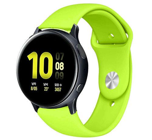 Strap-it® Strap-it® Samsung Galaxy Watch Active sport band (lichtgroen)