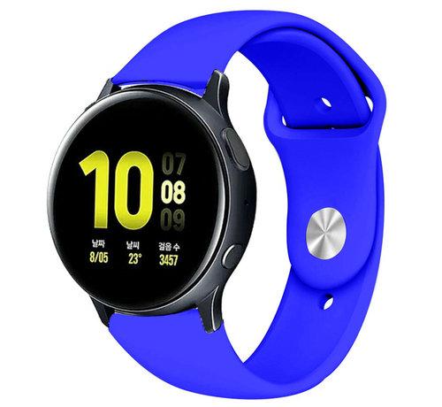 Strap-it® Strap-it® Samsung Galaxy Watch Active sport band (blauw)