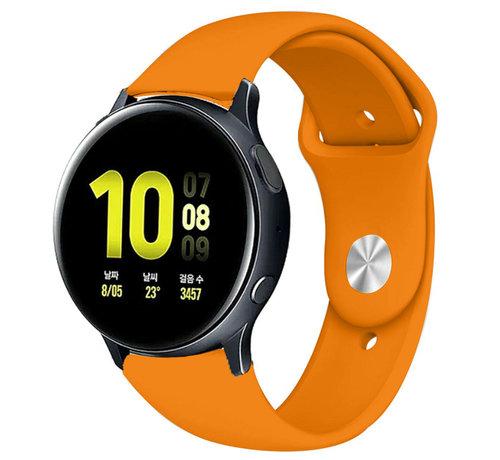 Strap-it® Strap-it® Samsung Galaxy Watch Active sport band (oranje)