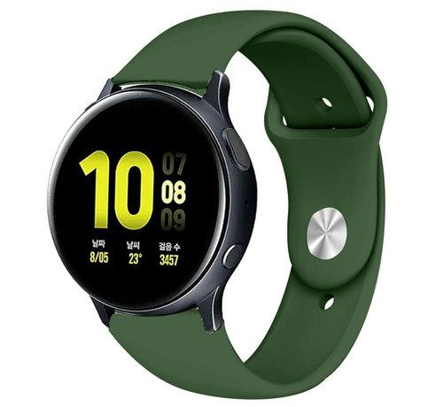 Strap-it® Strap-it® Samsung Galaxy Watch Active sport band (legergroen)